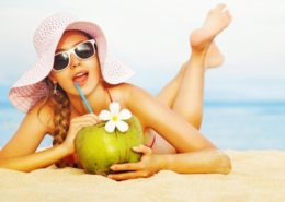 Health Benefits of Coconut Water (By- Dr Acharya's Esthetiques & Global Homoeopathy)